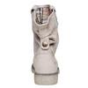 Kožená členková obuv weinbrenner, béžová, 596-8405 - 17