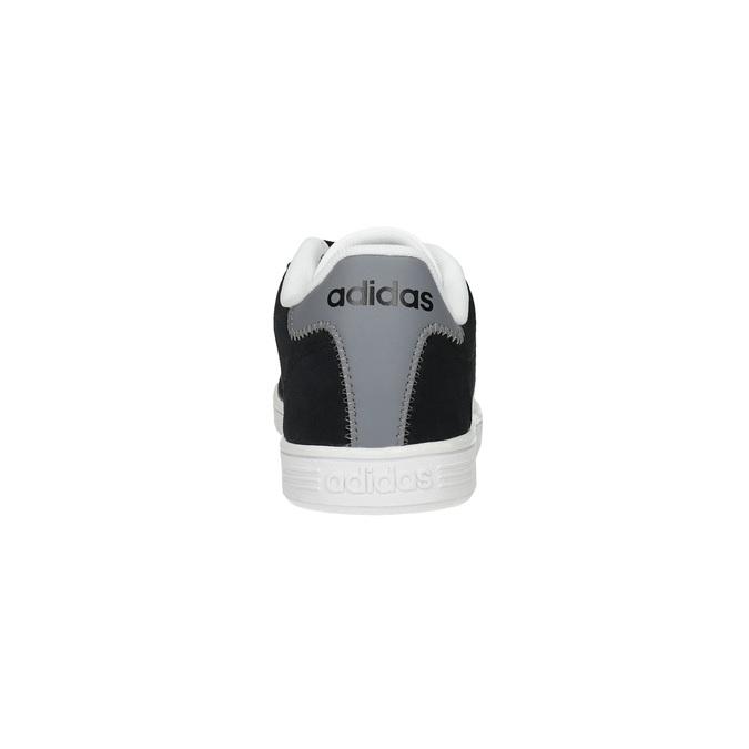 Pánske kožené tenisky adidas, čierna, 803-6132 - 17