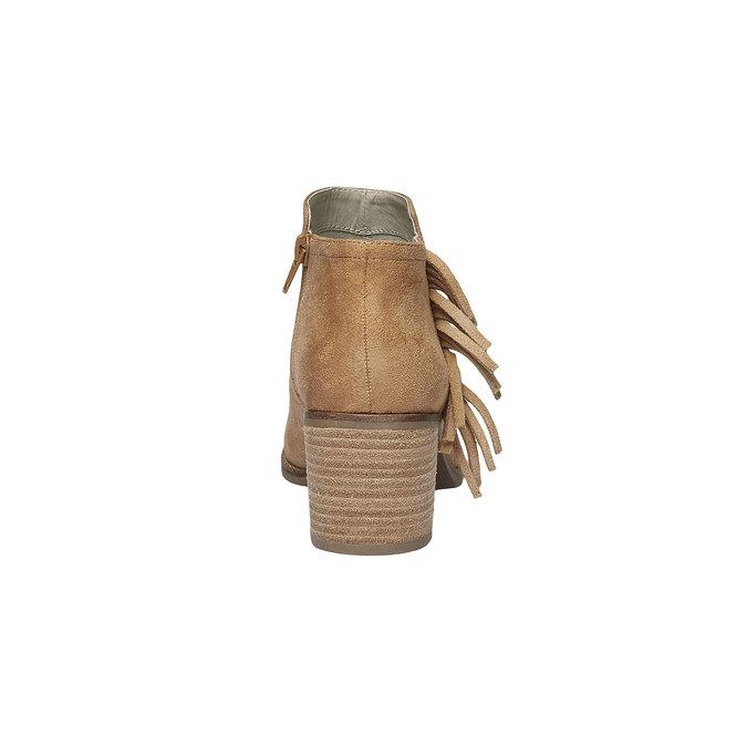 Členkové čižmy so strapcami bata, hnedá, 699-8283 - 17