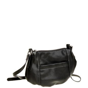 Crossbody kabelka bata, čierna, 961-6757 - 13