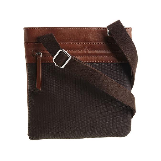 Pánska kožená Crossbody taška bata, hnedá, 964-4184 - 26