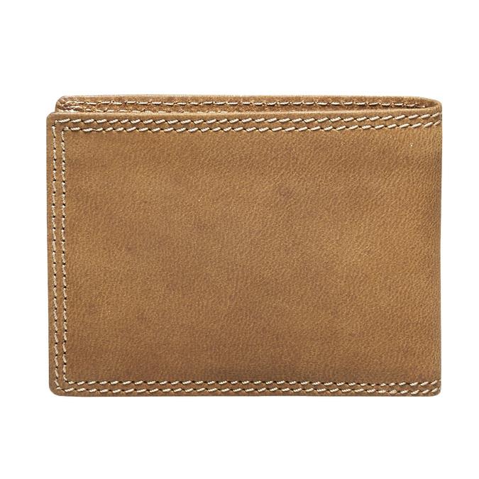 Pánská kožená peňaženka bata, hnedá, 944-3129 - 26