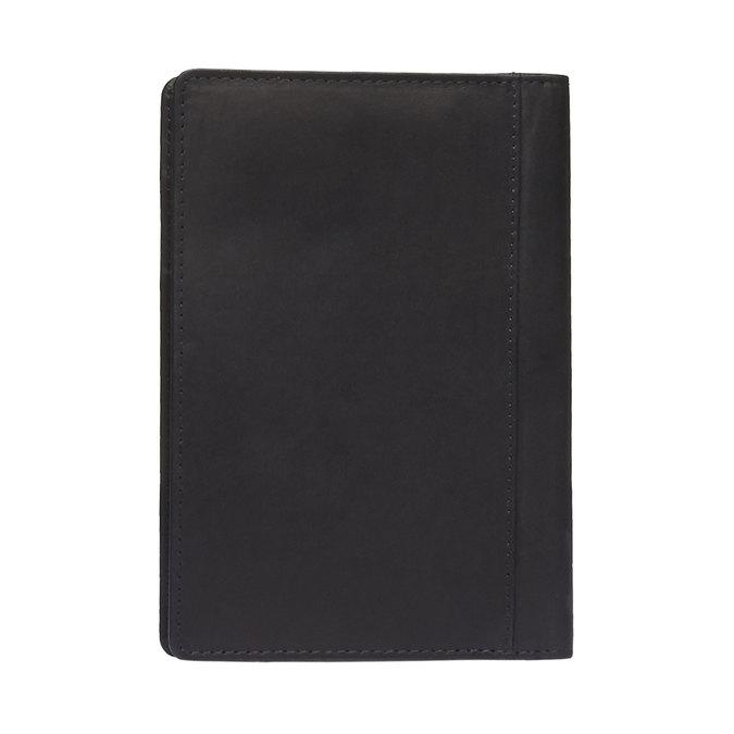 Kožené púzdro na karty bata, čierna, 944-6159 - 26