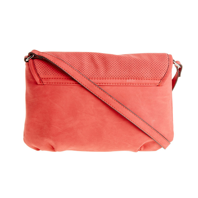 Crossbody kabelka so strapcom bata, červená, 961-5759 - 26