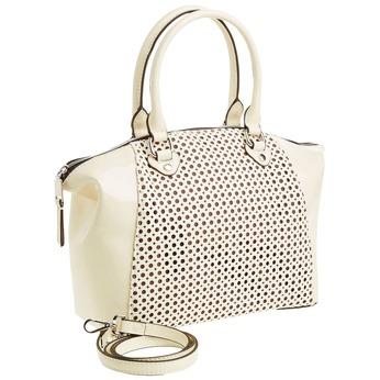 Dámská kabelka s odnímateľným popruhom bata, béžová, 961-8796 - 13
