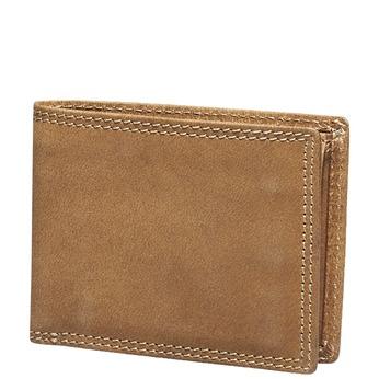Pánská kožená peňaženka bata, hnedá, 944-3129 - 13
