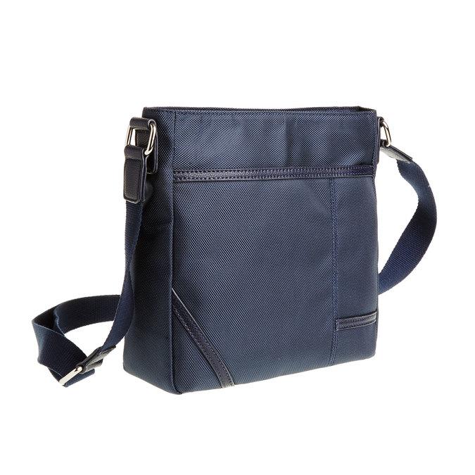 Pánska Crossbody taška bata, modrá, 969-9324 - 13