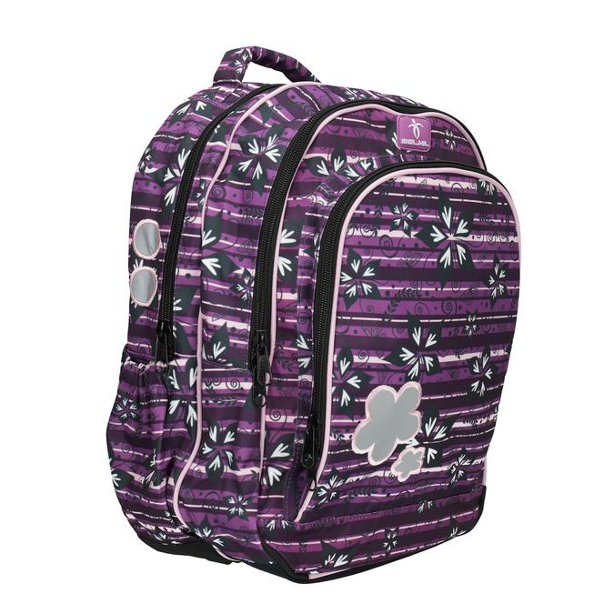 Fialový školský batoh belmil, fialová, 969-5628 - 13
