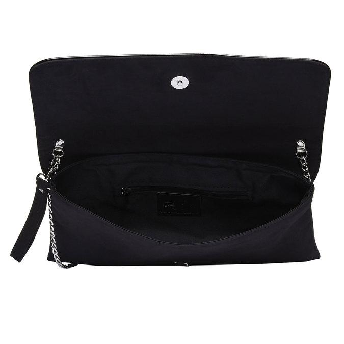 Dámska listová kabelka bata, čierna, 969-6313 - 15