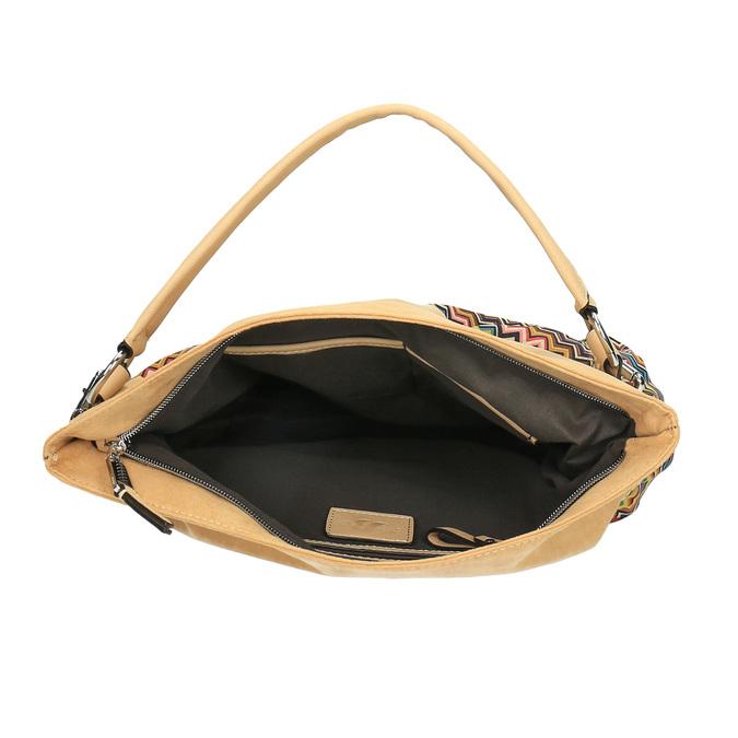 Dámska kabelka bata, béžová, 969-8402 - 15