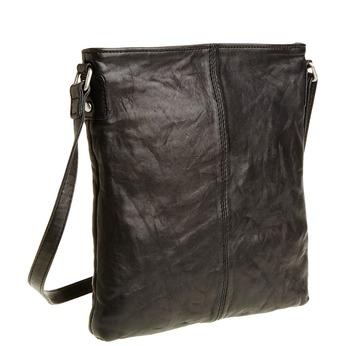 Kožená Crossbody taška bata, čierna, 964-6195 - 13