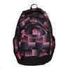 Dievčenský školský batoh s bodkami bagmaster, ružová, 969-5601 - 19