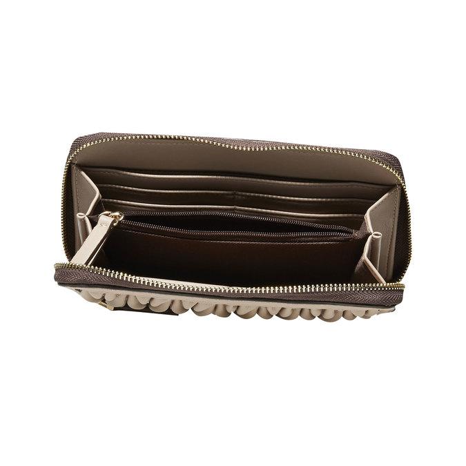 Dámska peňaženka bata, béžová, 941-8103 - 17