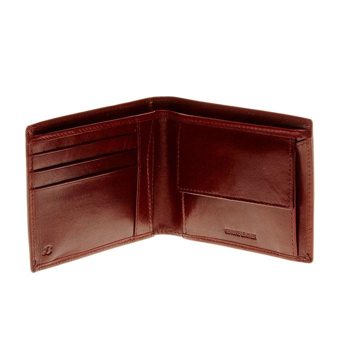 Pánska kožená peňaženka bata, hnedá, 944-4122 - 15