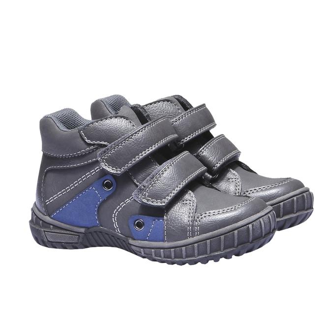 Detská obuv mini-b, šedá, 291-2136 - 26