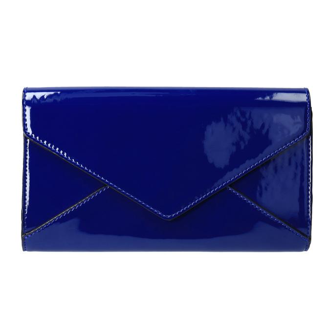 Modrá dámska listová kabelka bata, modrá, 961-9624 - 19