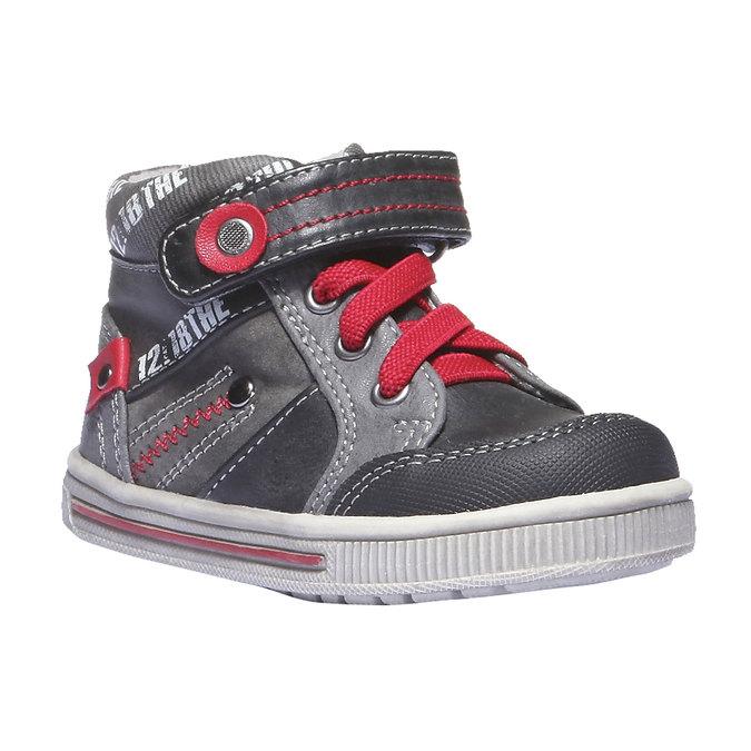 Detská obuv mini-b, čierna, 111-6102 - 13