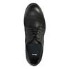 Kožené poltopánky v ležérnom dizajne bata, čierna, 826-6732 - 19
