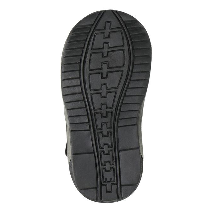 Dámska členková obuv bubblegummer, čierna, 111-6610 - 26