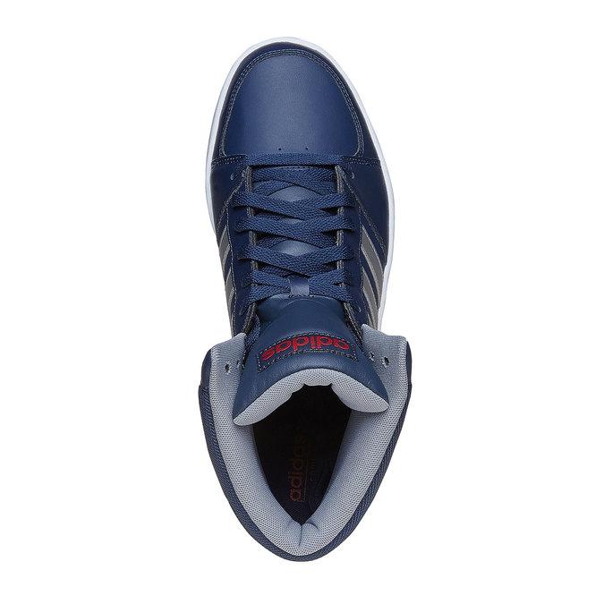 Pánske členkové tenisky adidas, modrá, 801-9240 - 19