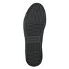 Dámske lakované tenisky bata, čierna, 528-6632 - 26