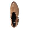 Kožené členkové čižmy vo Western štýle bata, hnedá, 696-4610 - 19