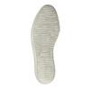 Kožená členková obuv na širokej podrážke bata, fialová, 596-5625 - 26