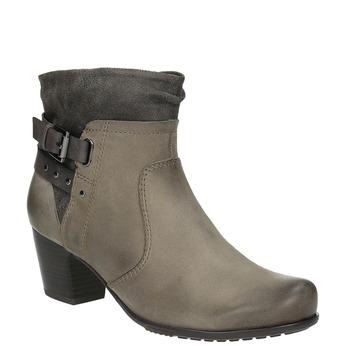 Dámska členková obuv bata, šedá, 696-2617 - 13
