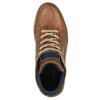 Kožené členkové tenisky bata, hnedá, 844-4621 - 19