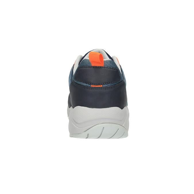Pánske tenisky na výraznej podrážke bata, modrá, 841-9601 - 17
