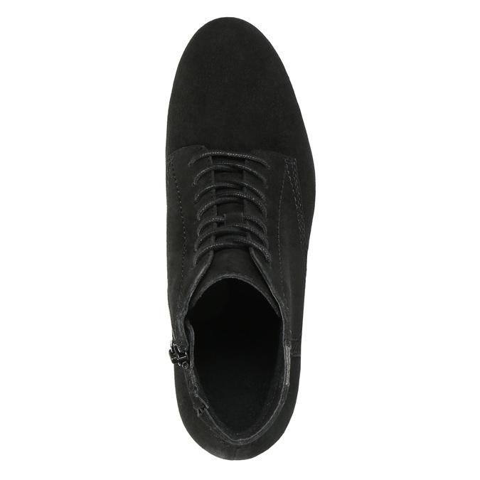 Dámska členková obuv bata, čierna, 693-6601 - 19