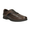 Ležérne kožené poltopánky bata, hnedá, 826-4652 - 13