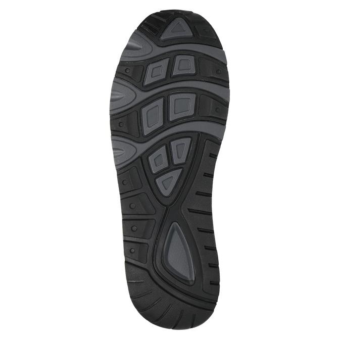 Pánske tenisky na výraznej podrážke bata, šedá, 841-2602 - 26
