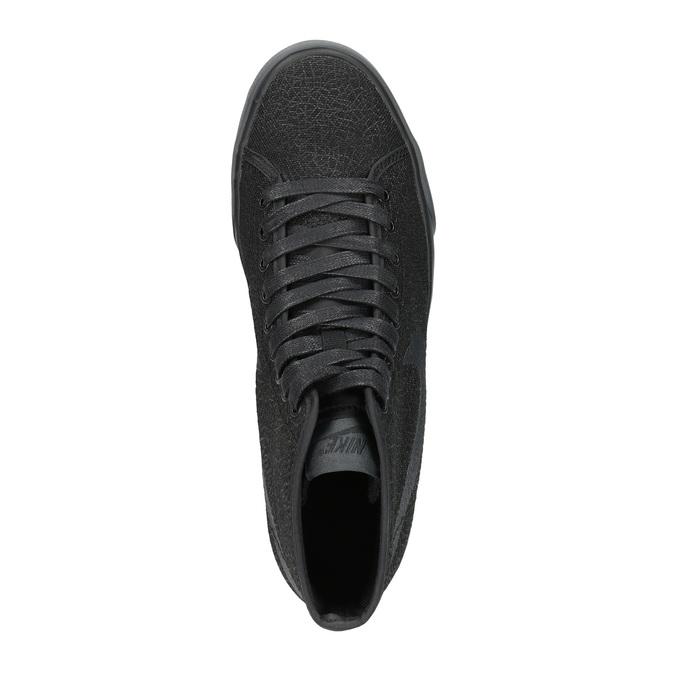 Čierne členkové tenisky nike, čierna, 501-6342 - 19