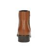 Kožená členková obuv so zipsom bata, hnedá, 594-3518 - 17