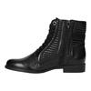 Dámska členková obuv bata, čierna, 594-6617 - 26