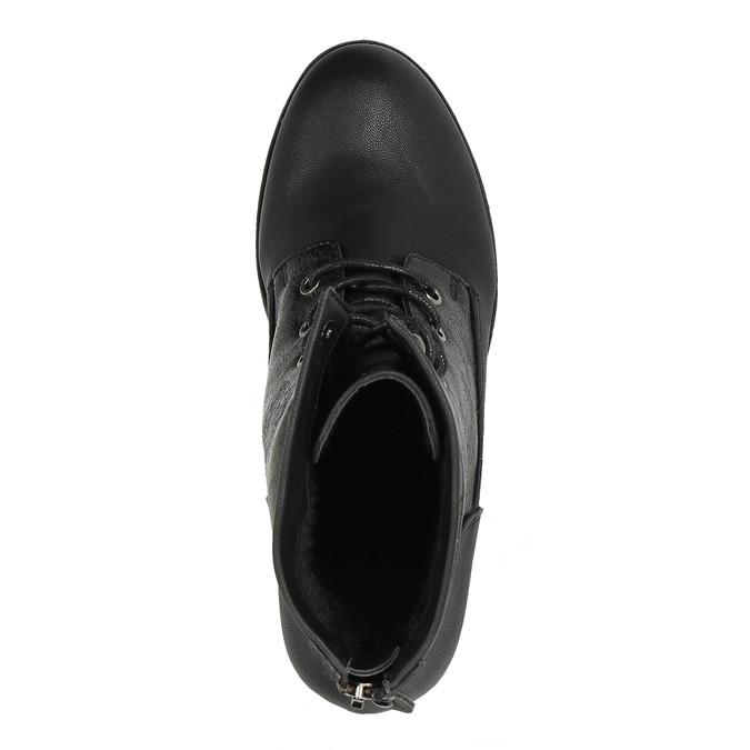 Dámska členková obuv bata, čierna, 591-6609 - 19
