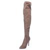 Dámske čižmy nad kolena bata, hnedá, 799-3600 - 26