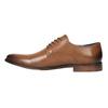 Pánske kožené poltopánky bata, hnedá, 826-3643 - 26
