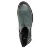 Kožená členková obuv na výraznej podrážke bata, 596-9615 - 19