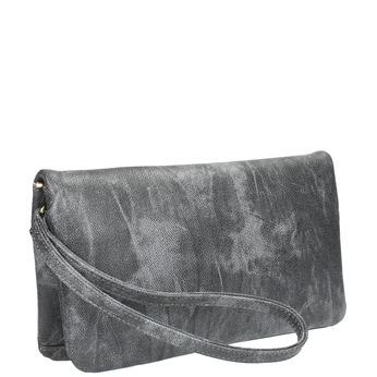 Šedá listová kabelka bata, šedá, 961-6668 - 13