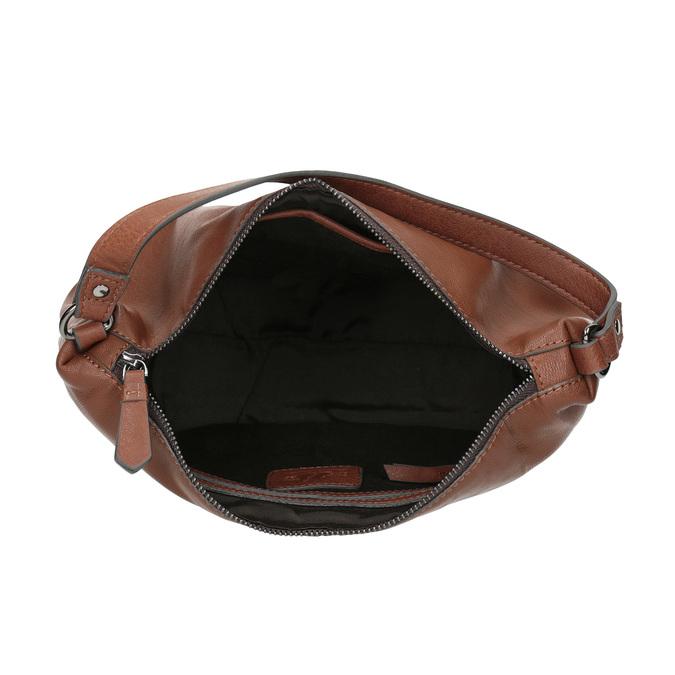 Kožená Hobo kabelka bata, hnedá, 964-4233 - 15