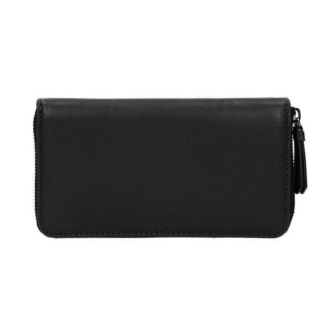 Dámská kožená peňaženka čierna bata, čierna, 944-6165 - 19