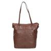 Hnedá kožená kabelka bata, hnedá, 964-3234 - 26
