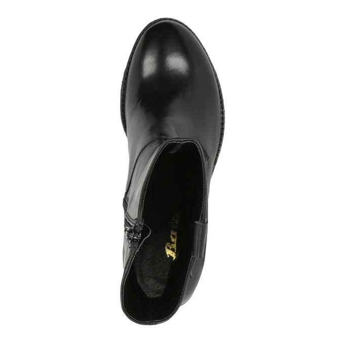 Dámska členková obuv bata, čierna, 694-6359 - 19