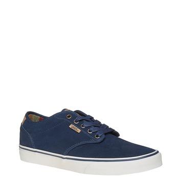 Pánske kožené tenisky vans, modrá, 803-9304 - 13