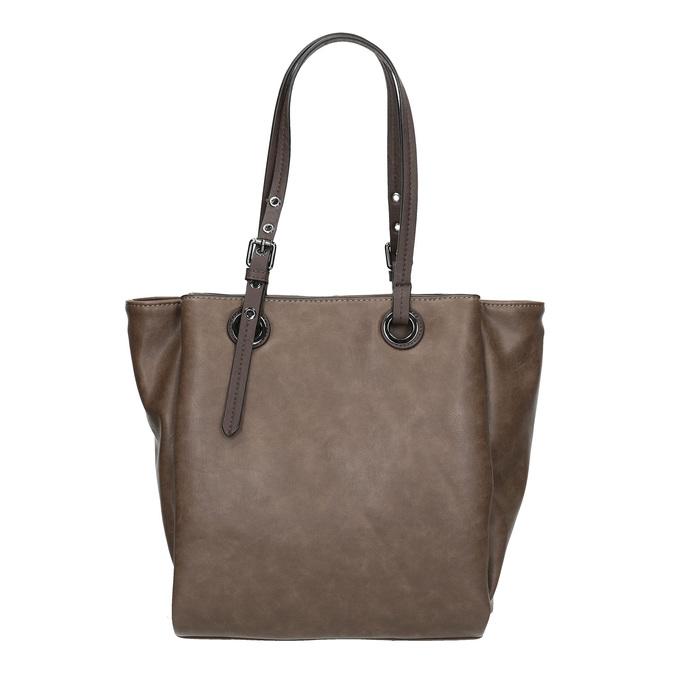 Hnedá dámska kabelka bata, šedá, 961-2123 - 19