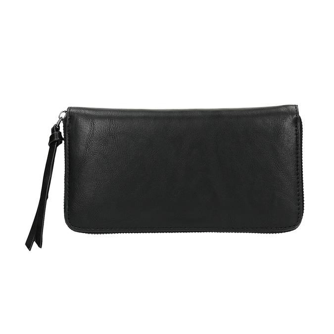 Dámska peňaženka s cvočkami bata, čierna, 941-6140 - 19