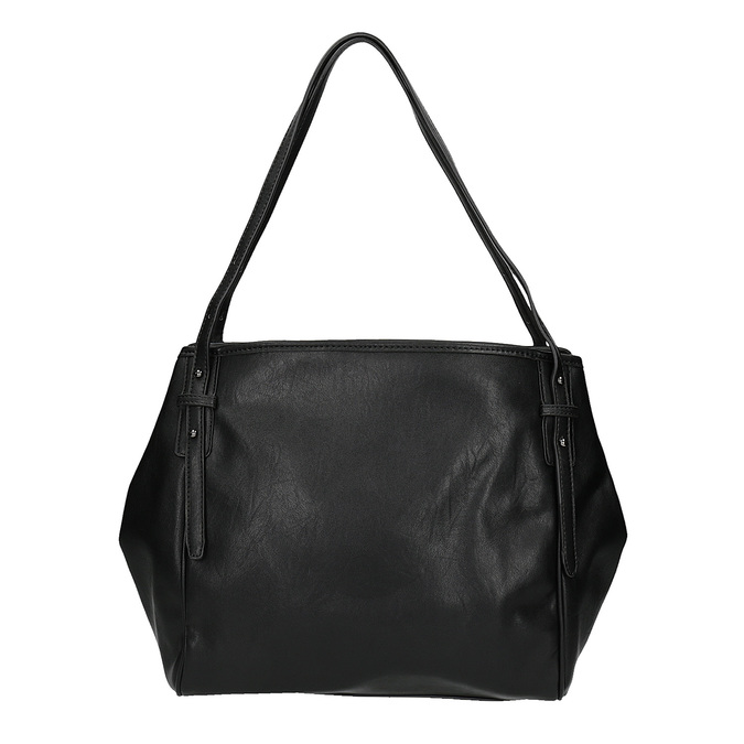 Dámska kabelka s trblietkami bata, čierna, 961-6213 - 19