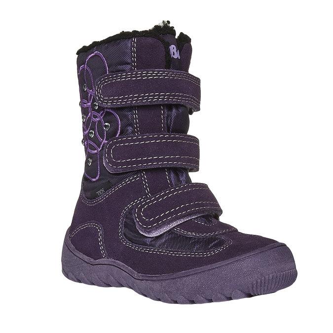 Detská obuv mini-b, fialová, 293-5100 - 13